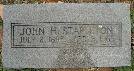 STAPLETON, JOHN H. - Faulkner County, Arkansas | JOHN H. STAPLETON - Arkansas Gravestone Photos