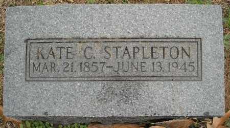 STAPLETON, KATE C. - Faulkner County, Arkansas | KATE C. STAPLETON - Arkansas Gravestone Photos