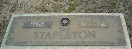 STAPLETON, LYDA M. - Faulkner County, Arkansas | LYDA M. STAPLETON - Arkansas Gravestone Photos