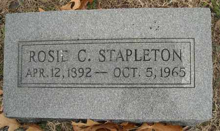 STAPLETON, ROSIE C. - Faulkner County, Arkansas | ROSIE C. STAPLETON - Arkansas Gravestone Photos