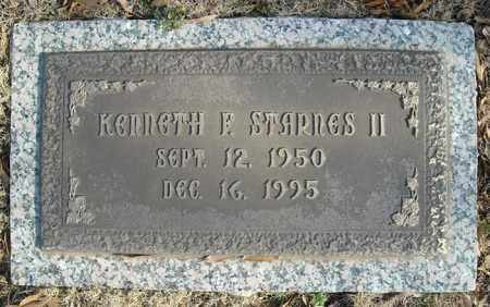 STARNES, II, KENNETH F. - Faulkner County, Arkansas | KENNETH F. STARNES, II - Arkansas Gravestone Photos