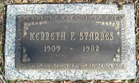 STARNES, KENNETH F. - Faulkner County, Arkansas | KENNETH F. STARNES - Arkansas Gravestone Photos