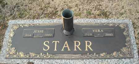 STARR, JESSE - Faulkner County, Arkansas | JESSE STARR - Arkansas Gravestone Photos