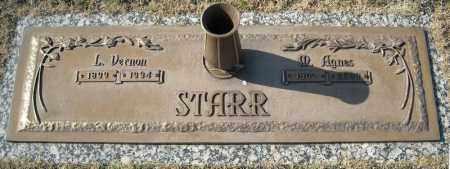 STARR, M. AGNES - Faulkner County, Arkansas | M. AGNES STARR - Arkansas Gravestone Photos