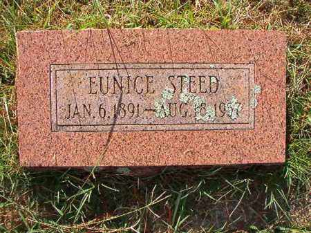 STEED, EUNICE - Faulkner County, Arkansas | EUNICE STEED - Arkansas Gravestone Photos