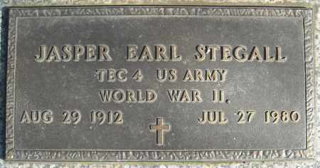 STEGALL (VETERAN WWII), JASPER EARL - Faulkner County, Arkansas | JASPER EARL STEGALL (VETERAN WWII) - Arkansas Gravestone Photos