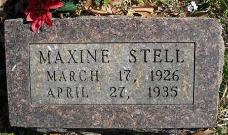 STELL, MAXINE - Faulkner County, Arkansas | MAXINE STELL - Arkansas Gravestone Photos