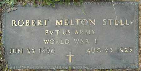 STELL (VETERAN WWI), ROBERT MELTON - Faulkner County, Arkansas | ROBERT MELTON STELL (VETERAN WWI) - Arkansas Gravestone Photos
