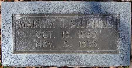 STEPHENS, MARTHA J. - Faulkner County, Arkansas | MARTHA J. STEPHENS - Arkansas Gravestone Photos