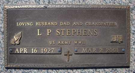 STEPHENS (VETERAN WWII), L P - Faulkner County, Arkansas | L P STEPHENS (VETERAN WWII) - Arkansas Gravestone Photos