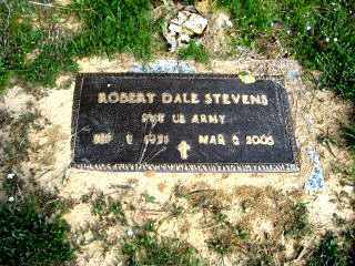 STEVENS  (VETERAN), ROBERT DALE - Faulkner County, Arkansas | ROBERT DALE STEVENS  (VETERAN) - Arkansas Gravestone Photos