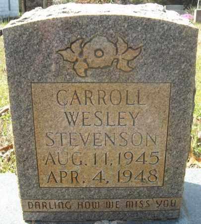 STEVENSON, CARROLL WESLEY - Faulkner County, Arkansas   CARROLL WESLEY STEVENSON - Arkansas Gravestone Photos