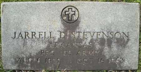 STEVENSON (VETERAN), JARRELL D - Faulkner County, Arkansas | JARRELL D STEVENSON (VETERAN) - Arkansas Gravestone Photos