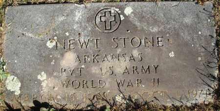 STONE  (VETERAN WWII), NEWT - Faulkner County, Arkansas | NEWT STONE  (VETERAN WWII) - Arkansas Gravestone Photos