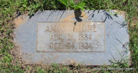 STONE, AMOS (#2) - Faulkner County, Arkansas | AMOS (#2) STONE - Arkansas Gravestone Photos