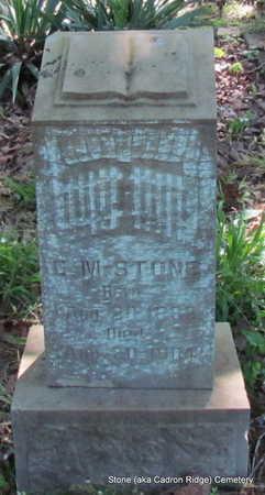 STONE, C.M. - Faulkner County, Arkansas | C.M. STONE - Arkansas Gravestone Photos