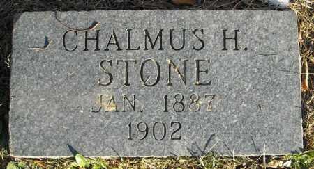 STONE, CHALMUS H. - Faulkner County, Arkansas | CHALMUS H. STONE - Arkansas Gravestone Photos