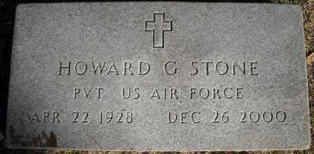 STONE  (VETERAN), HOWARD G - Faulkner County, Arkansas | HOWARD G STONE  (VETERAN) - Arkansas Gravestone Photos