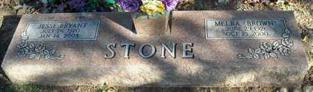 BROWN STONE, MELBA - Faulkner County, Arkansas | MELBA BROWN STONE - Arkansas Gravestone Photos