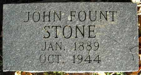 STONE, JOHN FOUNT - Faulkner County, Arkansas | JOHN FOUNT STONE - Arkansas Gravestone Photos