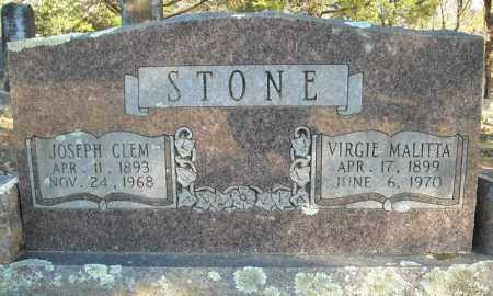 STONE, VIRGIE MALITTA - Faulkner County, Arkansas | VIRGIE MALITTA STONE - Arkansas Gravestone Photos