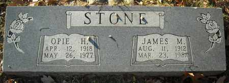 STONE, JAMES M. - Faulkner County, Arkansas | JAMES M. STONE - Arkansas Gravestone Photos