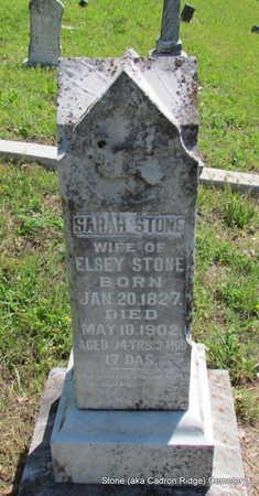 STONE, SARAH - Faulkner County, Arkansas | SARAH STONE - Arkansas Gravestone Photos