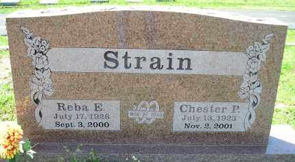 STRAIN, CHESTER PORTER - Faulkner County, Arkansas | CHESTER PORTER STRAIN - Arkansas Gravestone Photos