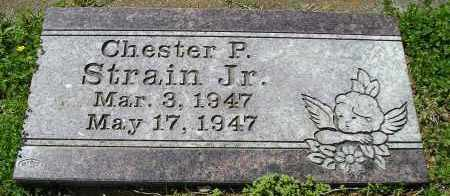 STRAIN, JR., CHESTER P. - Faulkner County, Arkansas | CHESTER P. STRAIN, JR. - Arkansas Gravestone Photos