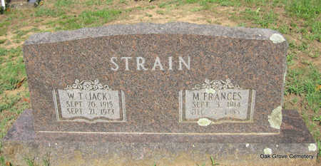 COXEY STRAIN, MARY FRANCES - Faulkner County, Arkansas | MARY FRANCES COXEY STRAIN - Arkansas Gravestone Photos