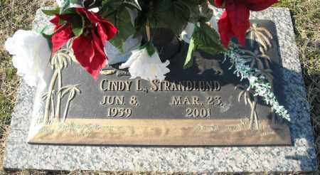 STRANDLUND, CINDY L. - Faulkner County, Arkansas | CINDY L. STRANDLUND - Arkansas Gravestone Photos