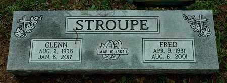 STROUPE, FRED TANNER - Faulkner County, Arkansas | FRED TANNER STROUPE - Arkansas Gravestone Photos