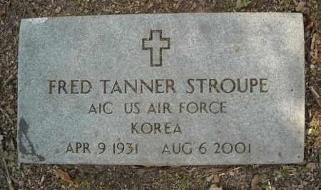 STROUPE  (VETERAN KOR), FRED TANNER - Faulkner County, Arkansas | FRED TANNER STROUPE  (VETERAN KOR) - Arkansas Gravestone Photos