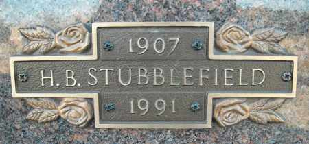 STUBBLEFIELD, H.B. - Faulkner County, Arkansas | H.B. STUBBLEFIELD - Arkansas Gravestone Photos