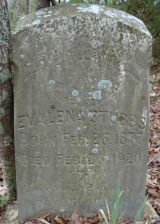STUBBS, EVALENA - Faulkner County, Arkansas | EVALENA STUBBS - Arkansas Gravestone Photos