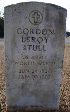 STULL (VETERAN WWII), GORDON LEROY - Faulkner County, Arkansas | GORDON LEROY STULL (VETERAN WWII) - Arkansas Gravestone Photos