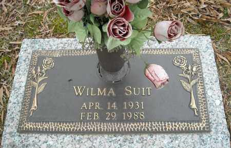 SUIT, WILMA - Faulkner County, Arkansas | WILMA SUIT - Arkansas Gravestone Photos