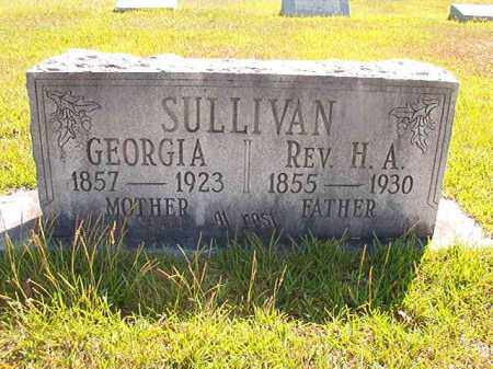 SULLIVAN, REV., H.A. - Faulkner County, Arkansas | H.A. SULLIVAN, REV. - Arkansas Gravestone Photos