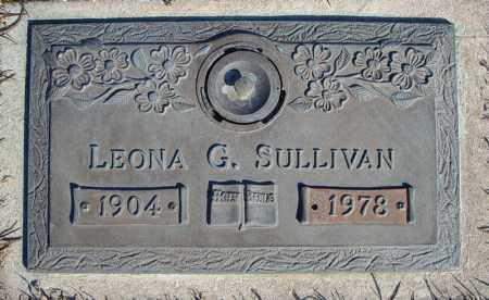 SULLIVAN, LEONA G. - Faulkner County, Arkansas | LEONA G. SULLIVAN - Arkansas Gravestone Photos