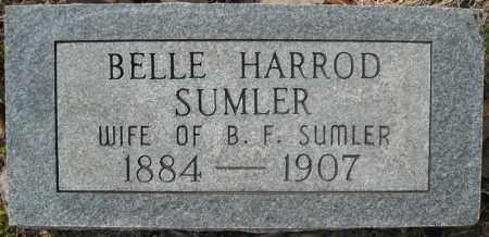 SUMLER, BELLE - Faulkner County, Arkansas | BELLE SUMLER - Arkansas Gravestone Photos