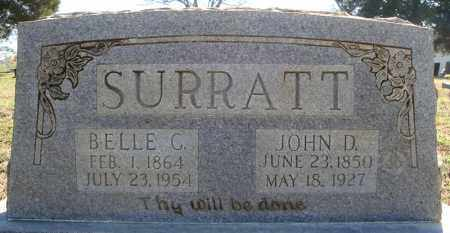 SURRATT, JOHN D. - Faulkner County, Arkansas | JOHN D. SURRATT - Arkansas Gravestone Photos