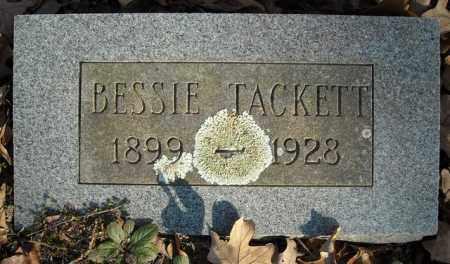 TACKETT, BESSIE - Faulkner County, Arkansas | BESSIE TACKETT - Arkansas Gravestone Photos