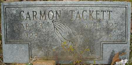 TACKETT, CARMON - Faulkner County, Arkansas | CARMON TACKETT - Arkansas Gravestone Photos
