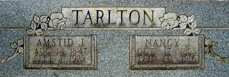 TARLTON, NANCY J. - Faulkner County, Arkansas | NANCY J. TARLTON - Arkansas Gravestone Photos