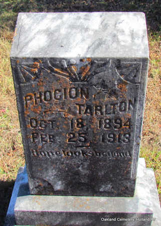 TARLTON, PHOCION - Faulkner County, Arkansas | PHOCION TARLTON - Arkansas Gravestone Photos
