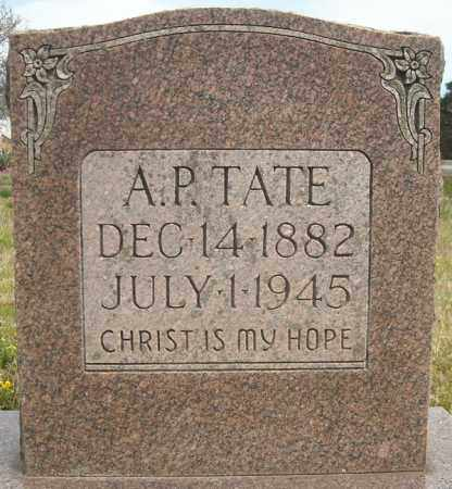 TATE, A.P. - Faulkner County, Arkansas | A.P. TATE - Arkansas Gravestone Photos