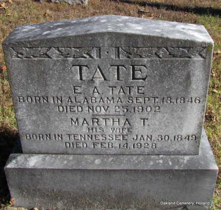 TATE, E.A. - Faulkner County, Arkansas | E.A. TATE - Arkansas Gravestone Photos