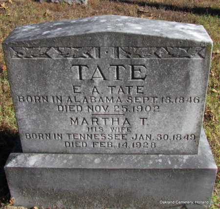 TATE, MARTHA TABITHA - Faulkner County, Arkansas | MARTHA TABITHA TATE - Arkansas Gravestone Photos