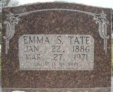 TATE, EMMA S. - Faulkner County, Arkansas | EMMA S. TATE - Arkansas Gravestone Photos