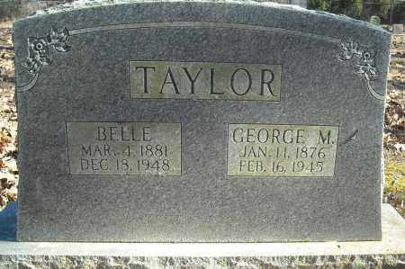 TAYLOR, GEORGE M. - Faulkner County, Arkansas | GEORGE M. TAYLOR - Arkansas Gravestone Photos